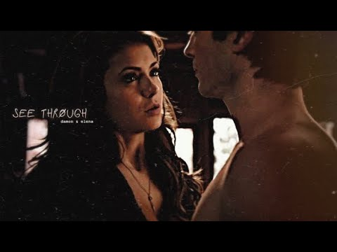 Damon elena   see through.