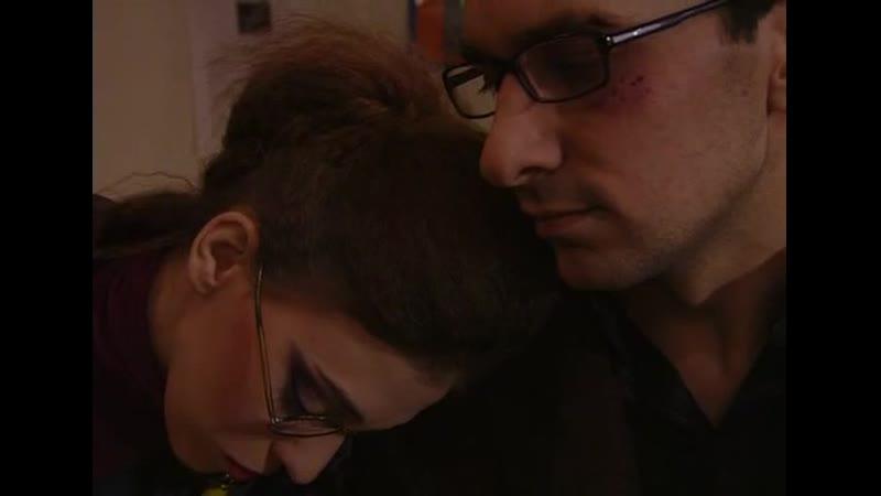 Андрей успокаивает Катю отрывок из 74 серии