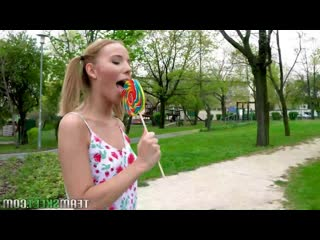 Poppy pleasure - pigtail pink pounding [full hd 1080, all sex, blowjob, teen, blonde]