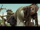 Побег Джека Воробья из племени пилигостов - Пираты Карибского моря: Сундук мертвеца