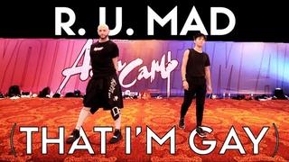 R U Mad feat Sean Lew - Michael Blume, Shea Couleé & Peppermint | Brian Friedman Choreo | Asia Camp