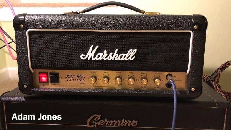 Marshall Studio Classic SC20 JCM800 - Hard Rock!