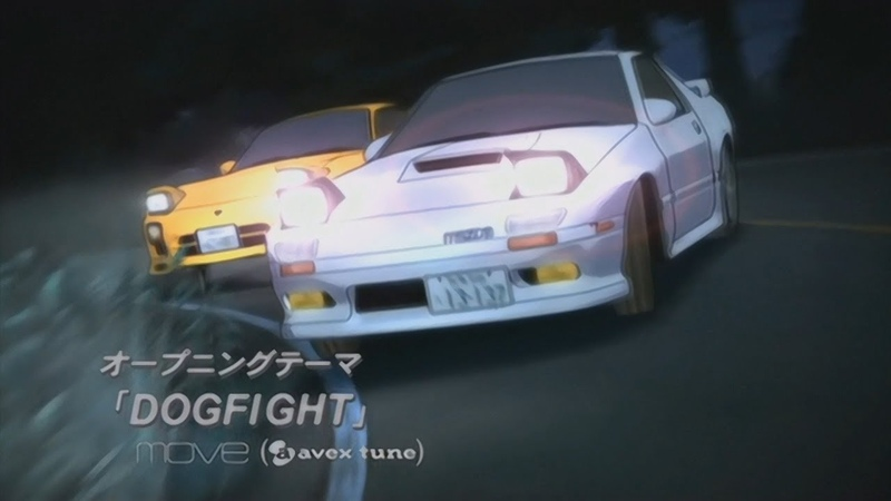 Initial D Fourth Stage OP 1 - Dogfight (Remastered in HD 60FPS using AI Machine Learning)
