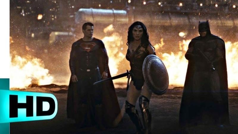 Лига против Думсдея. Финальная битва | Бэтмен против Супермена: На заре справедливости (2016) | HD