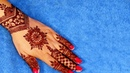 Mehndi for Hands - Gol Tikki Mehndi Design for Front Hands 214 by Sonia Goyal