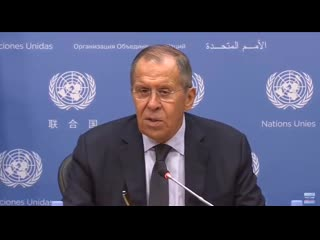 Лавров про обвинения России во все новых смертных грехах
