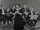 Nan Merriman sings Che farò senza Euridice LIVE