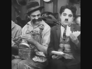 Чарли Чаплин как всегда на высоте