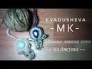 МК-Символ 2020 года.Брошка - Мышка/Jute craft/джутовая| decor/Идеи из джута/evadusheva