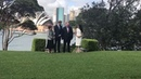 """Watch as Harry and Meghan pose in front of the iconic Sydney Opera House on the croquet lawn at Admiralty House"""" Rebecca English royalvisitaustralia dukeandduchessofsussex harryandmeghan princeharry duchessofsussex meghanduchessofsussex meghanm"""