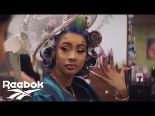 Reebok x cardi b nails commercial 2019