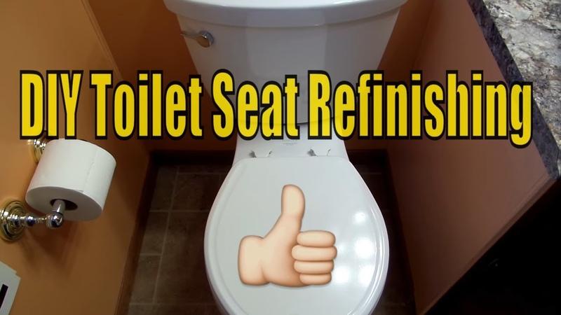 Toilet Seat Refinishing