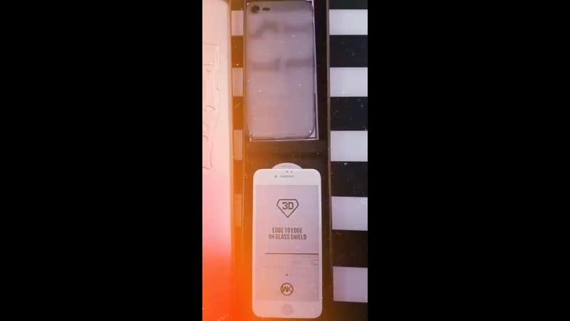 Защитное стекло накладка W.K. для IPhone 7/8