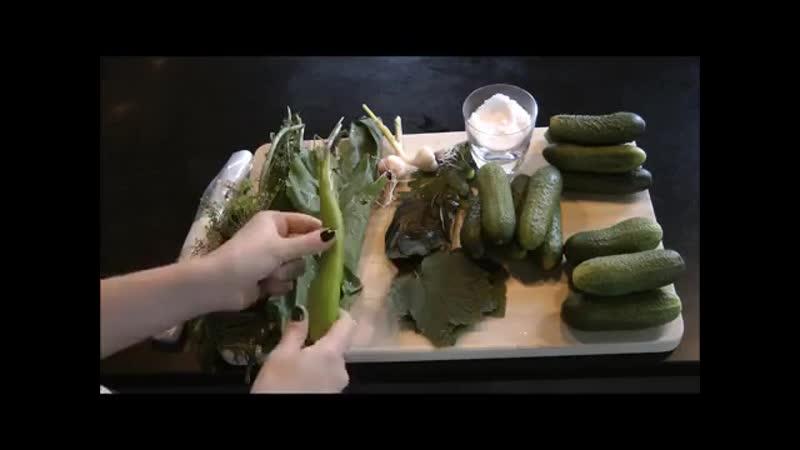 Малосольные огурцы в пакетах - супер удобный рецепт!