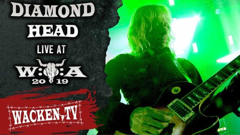 Diamond Head - Am I Evil - Live at Wacken Open Air 2019