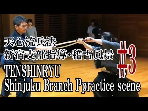 【天心流】新宿支部指導・稽古3【TENSHINRYU】