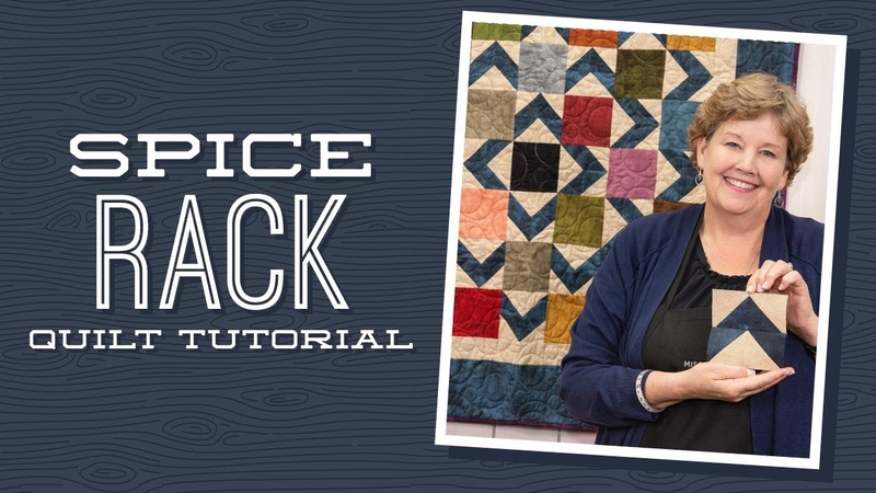 Make a Spice Rack Quilt with Jenny!