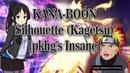Osu МОНТАЖ ~ 89pp on stream ~ KANA BOON Silhouette pkhg's Insane 2019 11 06
