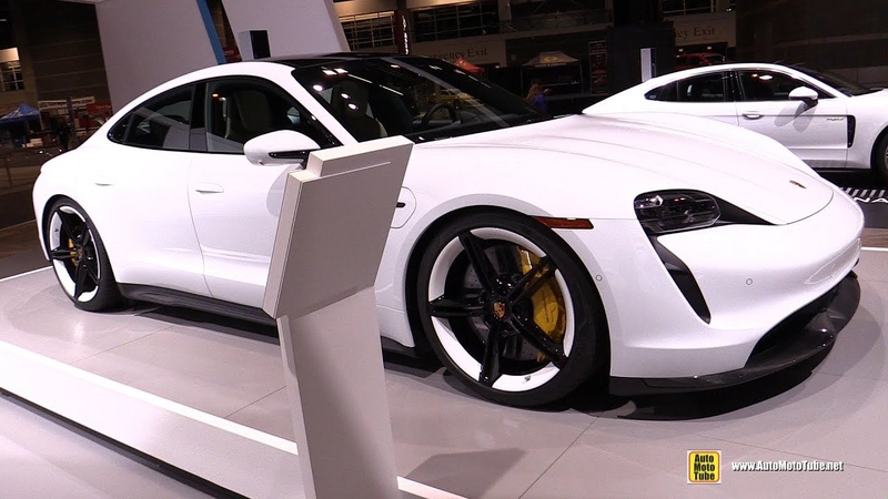2020 Porsche Taycan Turbo S Exterior Interior Walkaround 2020 Chicago Auto Show