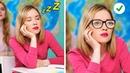ЗАБАВНЫЕ ШКОЛЬНЫЕ ЛАЙФХАКИ    Идеи «сделай сам» из школьных принадлежностей от 123 GO!