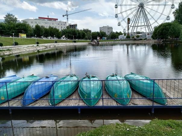 На пруду у цирка  Светлана Бушуева
