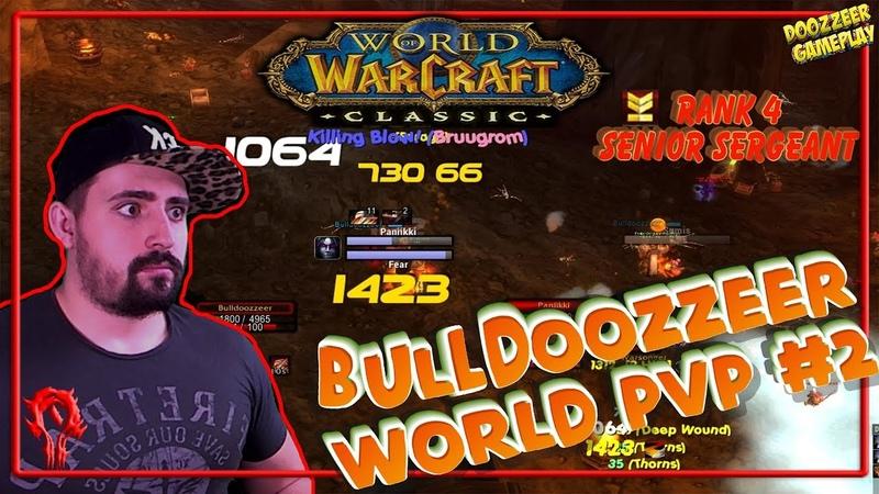 BulldoozzeeR WORLD PVP 2 Shazzrah WoW Classic Arms Warrior PHASE 2 Slaying Alliance