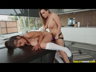 Natasha Nice  Ella Knox - The Tutor  порно porno русский секс домашнее видео brazzers