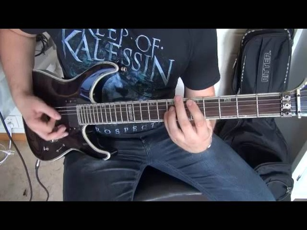 Keep Of Kalessin Dark Divinity guitar playthrough