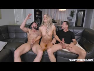 [familystrokes] kate kennedy not quite uncle orgy