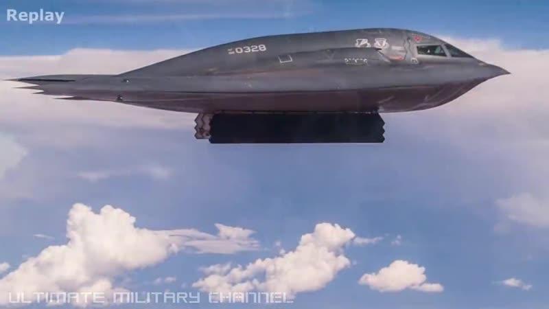 B-2 Spirit drops a GBU-57A_B MASSIVE ORDNANCE PENETRATOR! (Demonstration_trainin