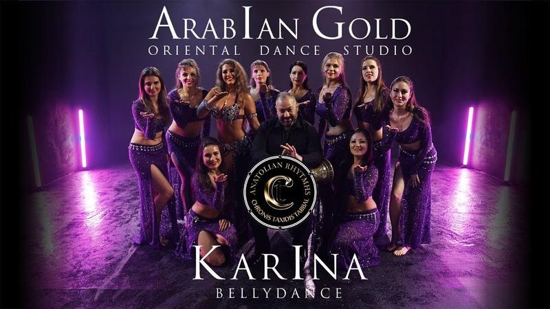 KARINA MELNIKOVA CHRONIS TAXIDIS ARABIAN GOLD DANCE GROUP. Tabla solo. Moscow 2019