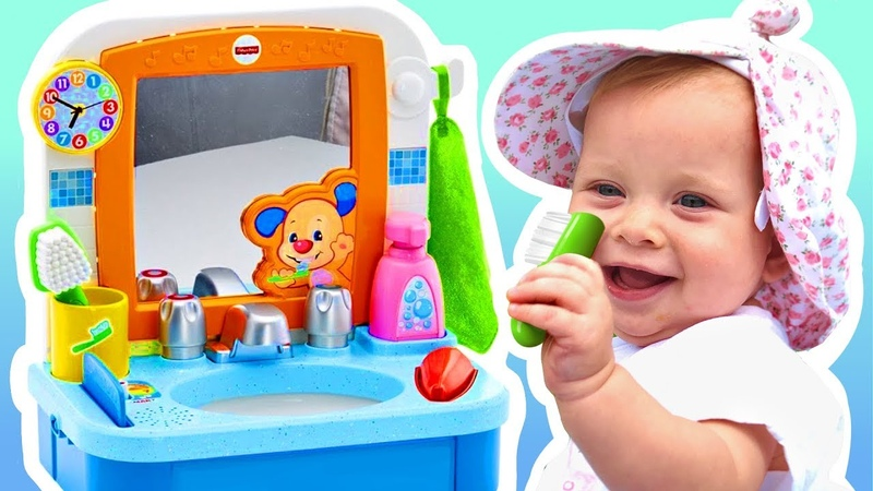 Brush Your Teeth Song Nursery Rhymes - Baby Song by Lilidi