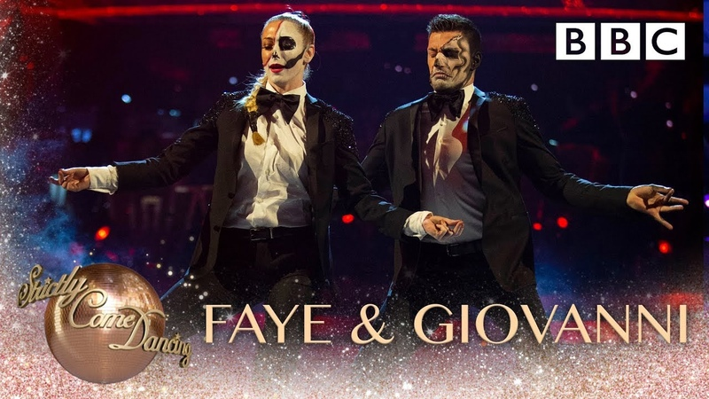 Faye Tozer and Giovanni Pernice Theatre and Jazz to 'Fever' by Peggy Lee BBC Strictly 2018