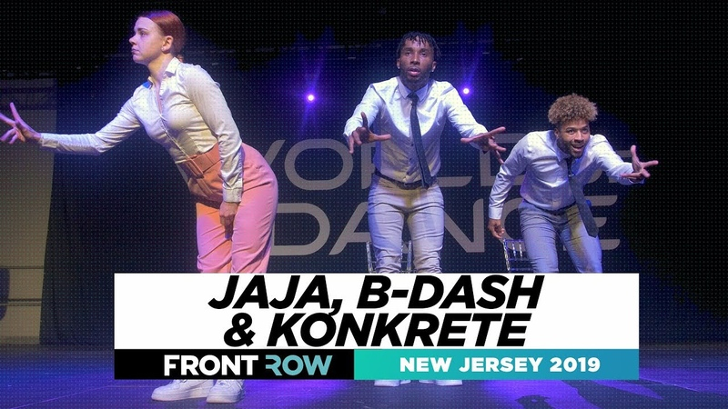 Jaja, B-dash Konkrete | FRONTROW | World of Dance New Jersey 2019 | WODNJ19
