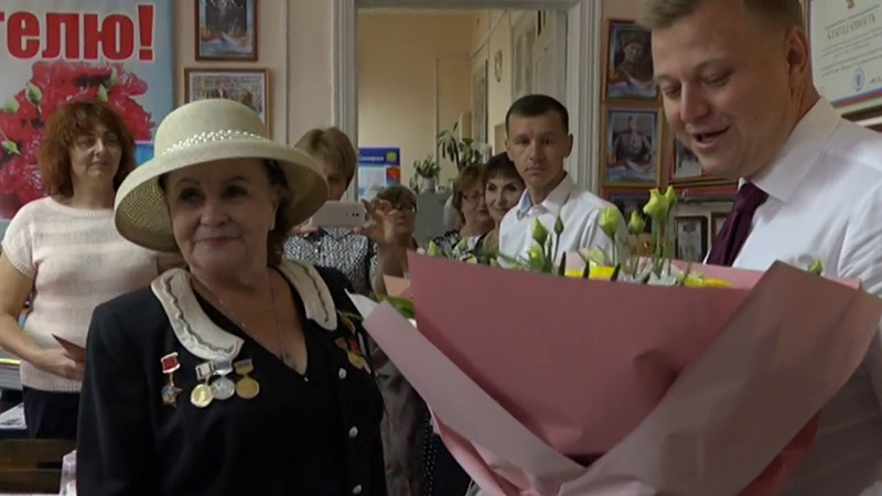 50-летие трудовой деятельности и день рождения Ирины Городней.