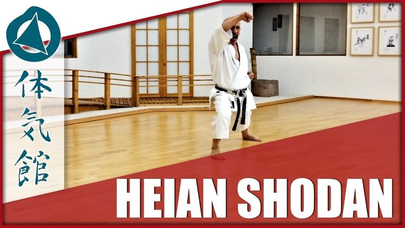 Heian shodan Körpereinsatz Shotokan Karate