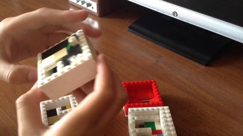 Лабиринт для шарика из Lego