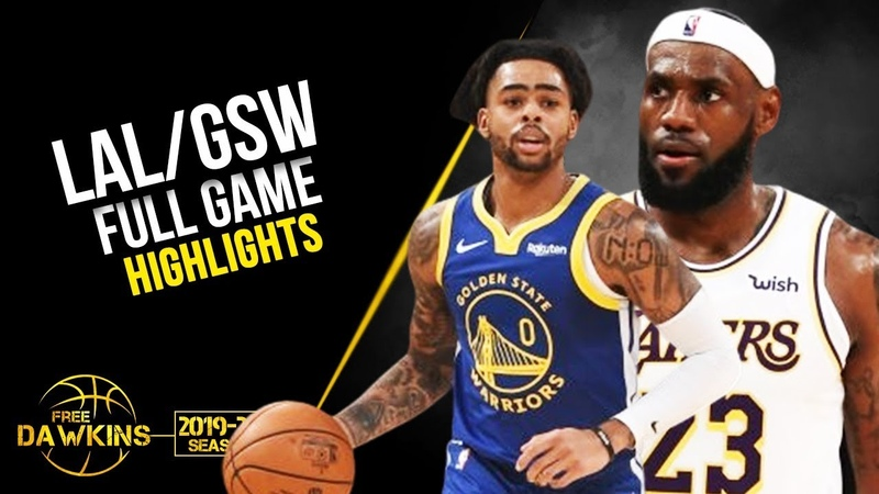 Los Angeles Lakers vs Golden State Warriors Full Game Highlights | October 16, 2019