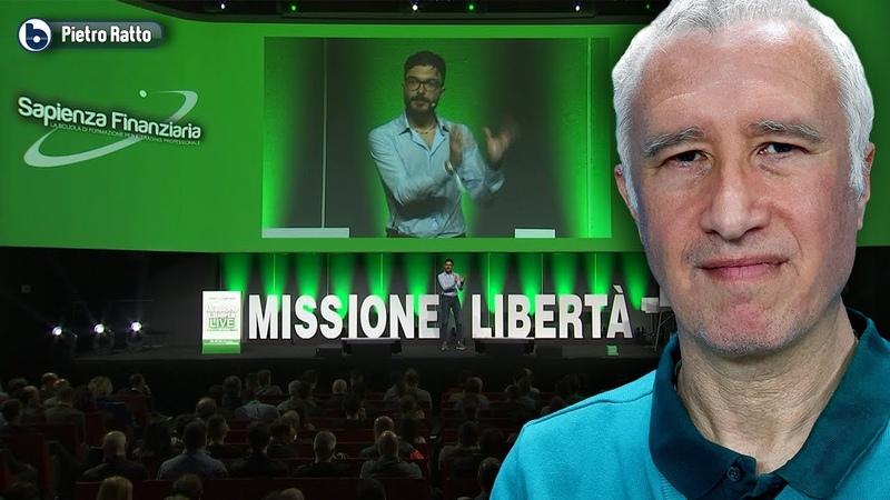 MISSIONE LIBERTÀ LIVE Giulio Pasquini presenta Pietro Ratto