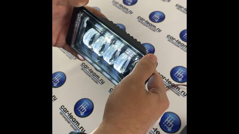 ПРОТИВОТУМАННЫЕ ФАРЫ (ПТФ) 4 ДИОДА LED НА ВАЗ 2113-14-15, ВАЗ 2110-11-12, FOG LAMP