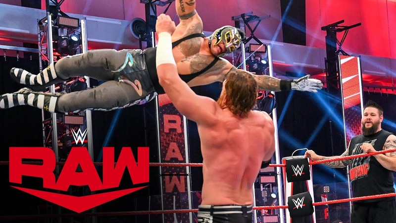 The Kingslayer Rey Mysterio Kevin Owens vs Seth Rollins Murphy Raw July 6 2020