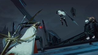 Punishing Gray Raven x Nier Automata collab ending (100% completion + secret)