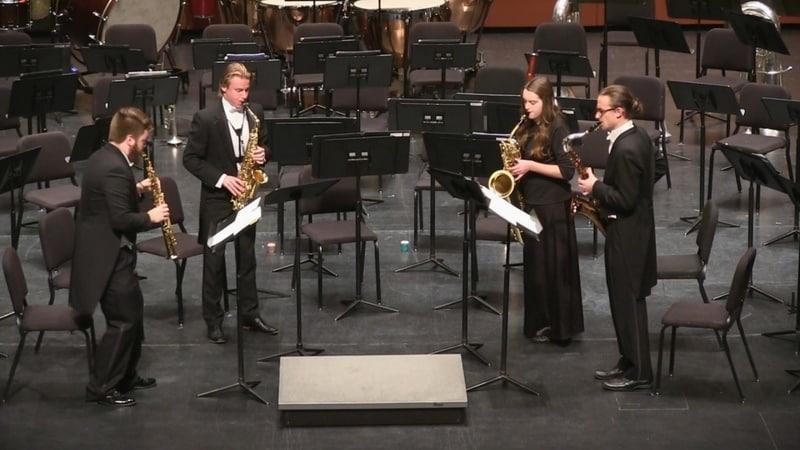 Lago: Cuidades: Sarajevo (Bosnia and Herzegovina) (2011) - Univ. of Northern Iowa saxophone quartet