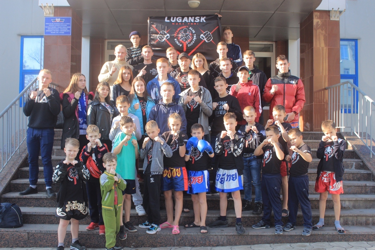 В училище олимпийского резерва им. С. Бубки прошёл чемпионат и первенство города Донецка по таиландскому боксу