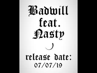 BADWILL feat. NASTY - THIS FIRE (release date)