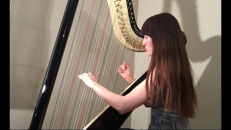 Linkin Park Numb - Harp Cover played on 44 string Camac Clio pedal harp by Marianne Bouvette