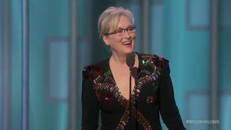 Meryl Streep powerful speech at the Golden Globes (2017)