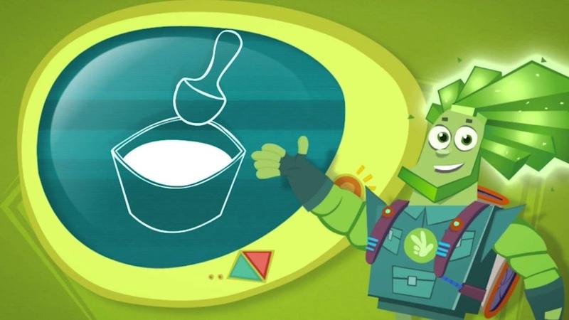 Фиксики Фикси советы Как сделать пластилин из муки