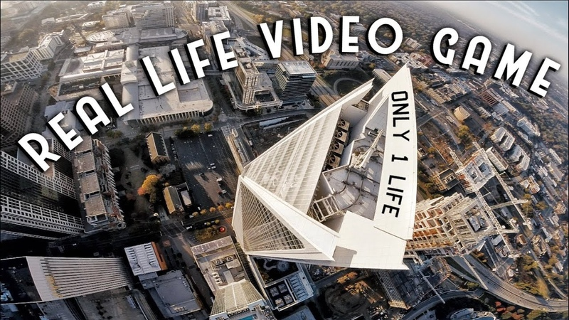 Real Life Video Game (1 LIFE) | RAW City Flight | FPV Freestyle