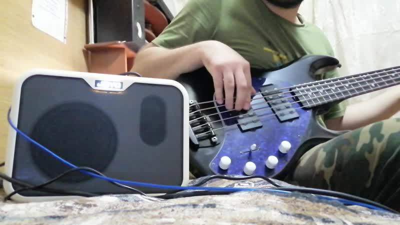 Joyo MA-10. Бас гитарный мини комбик.